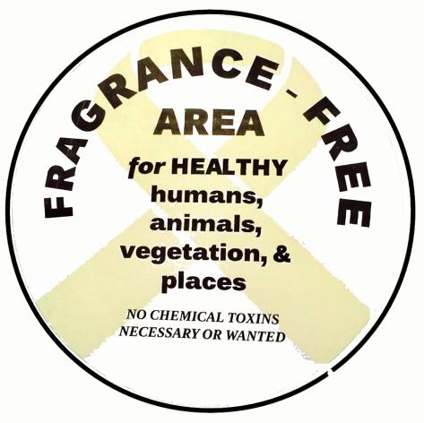 fragrance free symbol