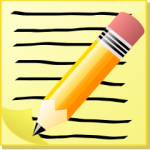 notepad_with_Text_and_Pencil